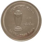 10 Taka (Cricket World Cup) – reverse