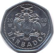 1 Dollar - Elizabeth II (small type; magnetic) – obverse
