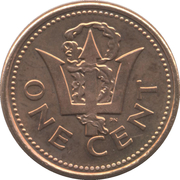 1 Cent - Elizabeth II (Light Version) -  reverse