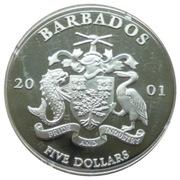 5 Dollars - Elizabeth II (UNICEF) – obverse