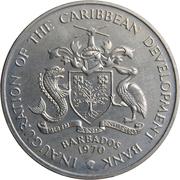 4 Dollars - Elizabeth II (FAO) – obverse