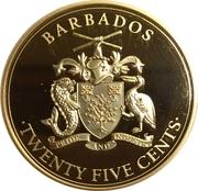 25 Cents (Pirates of Barbados - Blackbeard) – obverse