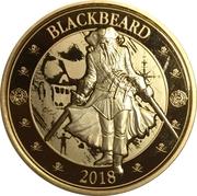 25 Cents (Pirates of Barbados - Blackbeard) – reverse