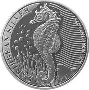 1 Dollar (Seahorse) – reverse