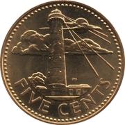 5 Cents - Elizabeth II -  reverse