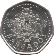1 Dollar - Elizabeth II (small and light type; magnetic) -  obverse