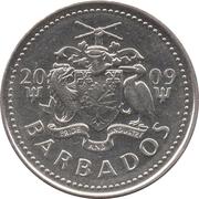 25 Cents - Elizabeth II (magnetic) -  obverse