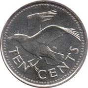10 Cents - Elizabeth II (Magnetic) -  reverse