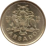 5 Cents - Elizabeth II (Magnetic) – obverse