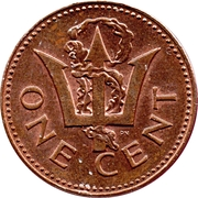 1 Cent - Elizabeth II (Heavy Version) – reverse