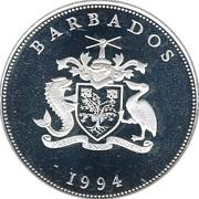 1 Dollar - Elizabeth II (Queen Elizabeth the Queen Mother) – obverse