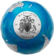 5 Dollars (Blue Marble Planet) -  obverse