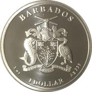 1 Dollar (Caribbean Silver - Pelican) – obverse