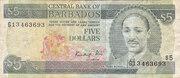 5 Dollars -  obverse
