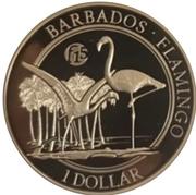 1 Dollar (Flamingo) – reverse
