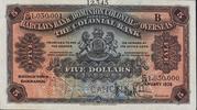 5 Dollars (Barclays Bank) – obverse