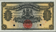 20 Dollars (Barclays Bank) – obverse