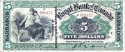 5 Dollars (Royal Bank of Canada) – obverse