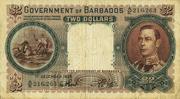 2 Dollars - George VI – obverse