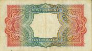 5 Dollars - George VI – reverse