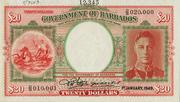 20 Dollars - George VI – obverse