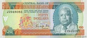 50 Dollars (Small numeral) – obverse