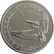1 Dollar (Pelican) – reverse