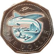1 Dollar (Flying fish) – reverse