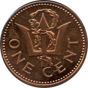 1 Cent - Elizabeth II (Independence) – reverse