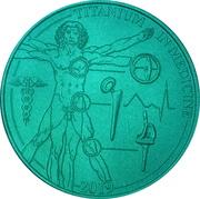 1 Dollar (Titanium in Medicine) – reverse