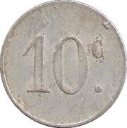 10 Centimes (Barbaira) – reverse