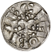 Dinero (Ramon Berenguer IV) – obverse