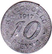 10 Pfennig - Barmen – reverse