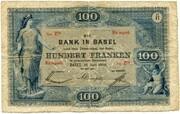 100 Francs (Bank in Basel) – obverse