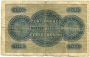 100 Francs (Bank in Basel) – reverse