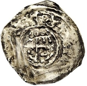1 Pfennig - Adalrich II. – obverse
