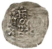 1 Dünnpfennig - Theodorich – obverse