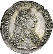 1 Groschen - Johann Konrad II von Reinach-Hirzbach – obverse