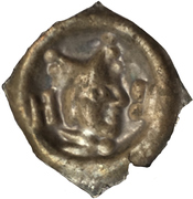 1 Pfennig- Johann II. Senn von Munsingen – reverse