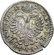 1 Groschen - Johann Konrad II von Reinach-Hirzbach – reverse