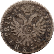 12 Kreuzer - Johann Conrad II – reverse