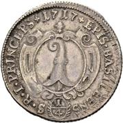 ¼ Thaler - Johann Conrad II – reverse