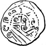 Denar - Adalbero II – obverse