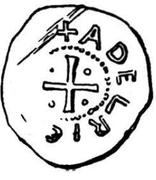 Denar - Adalrich II – reverse