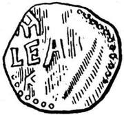 Denar - Theoderich – obverse