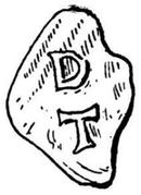 Denar - Theoderich – reverse