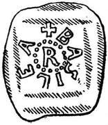 Denar - Rudolf IV von Homburg – obverse