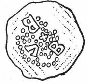Denar - Burkhard von Fenis – obverse