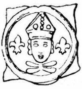 1 Pfennig - Johann I von Chalon – obverse
