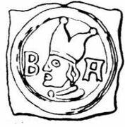 1 Pfennig - Johann II Senn von Münsingen – obverse